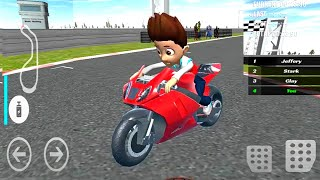 PAW Ryder Moto Racing 3D Game   Patrol Games #Bike Game To Play for Android ,HD Game Play Video