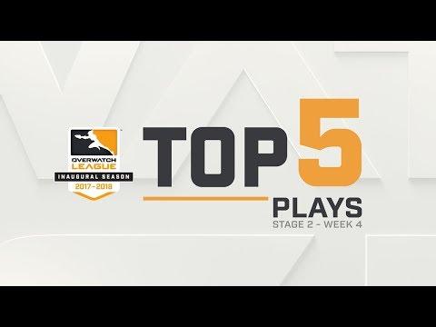 Overwatch League Top 5 Plays – Stage 2 – Week 4