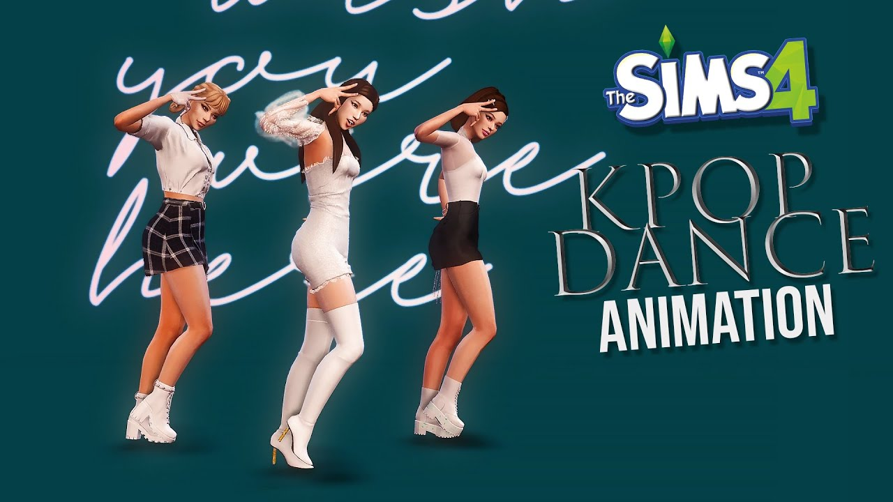 The Sims 4 Realistic Dance Download: Kpop Style YouTube