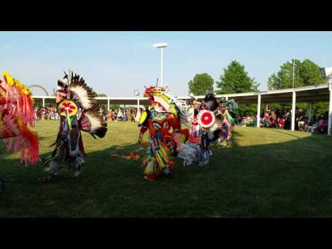 Grand Entry, 2016 Prairie Band Potawatomi Pow-wow