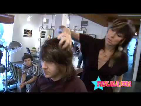 Disney Star Mitchel Musso Gets His Haircut!  FANLALA Exclusive Part 1