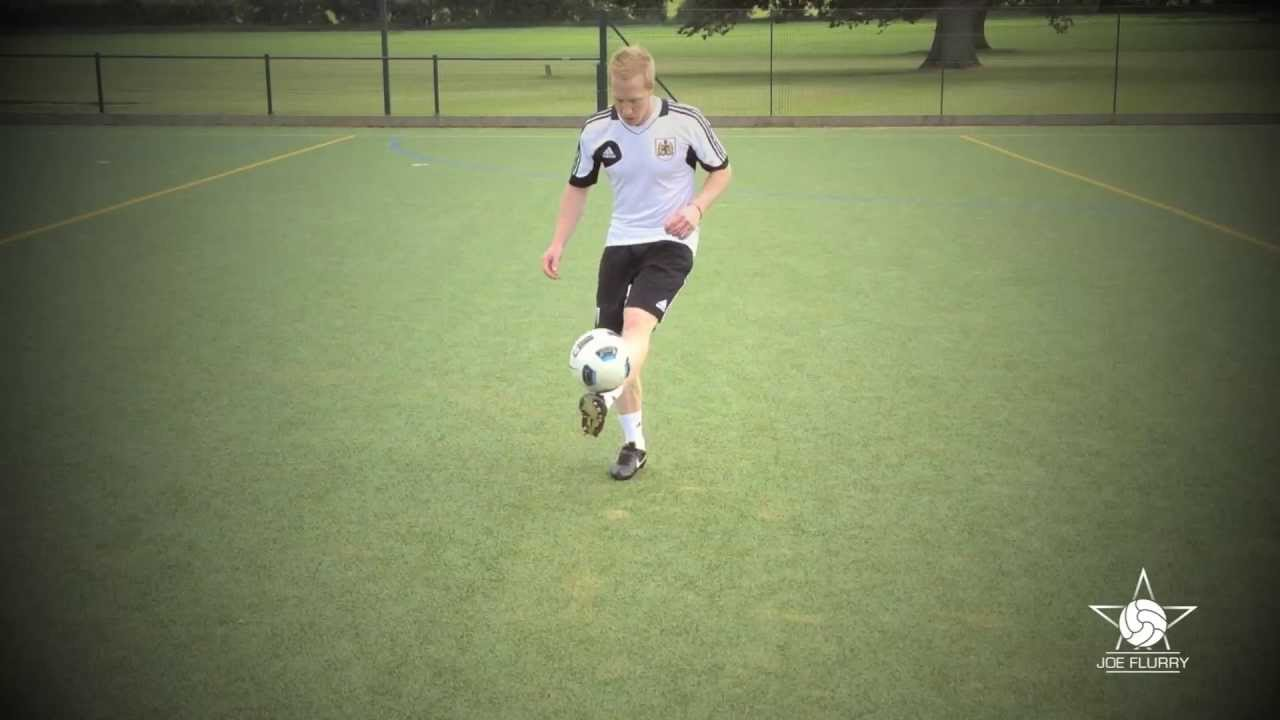 free kick soccer trainer instructions