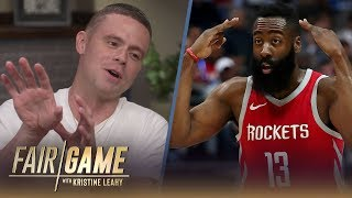 James Harden Says He Watched 'The Professor' (Grayson Boucher) Growing Up | FAIR GAME