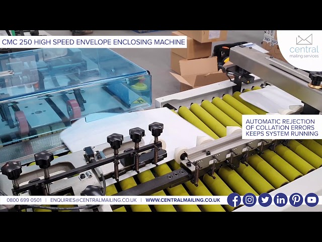 CMC 250 - HIGH SPEED ENCLOSING - CENTRAL MAILING SERVICES