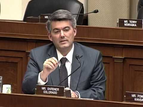Rep. Gardner questions Energy Secretary Moniz on LNG exports