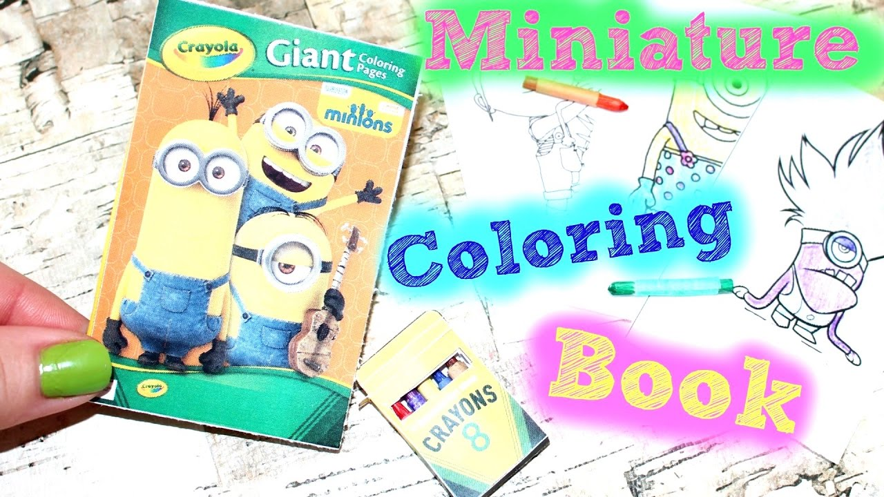 Diy American Girl Doll Coloring Book Crayons Youtube