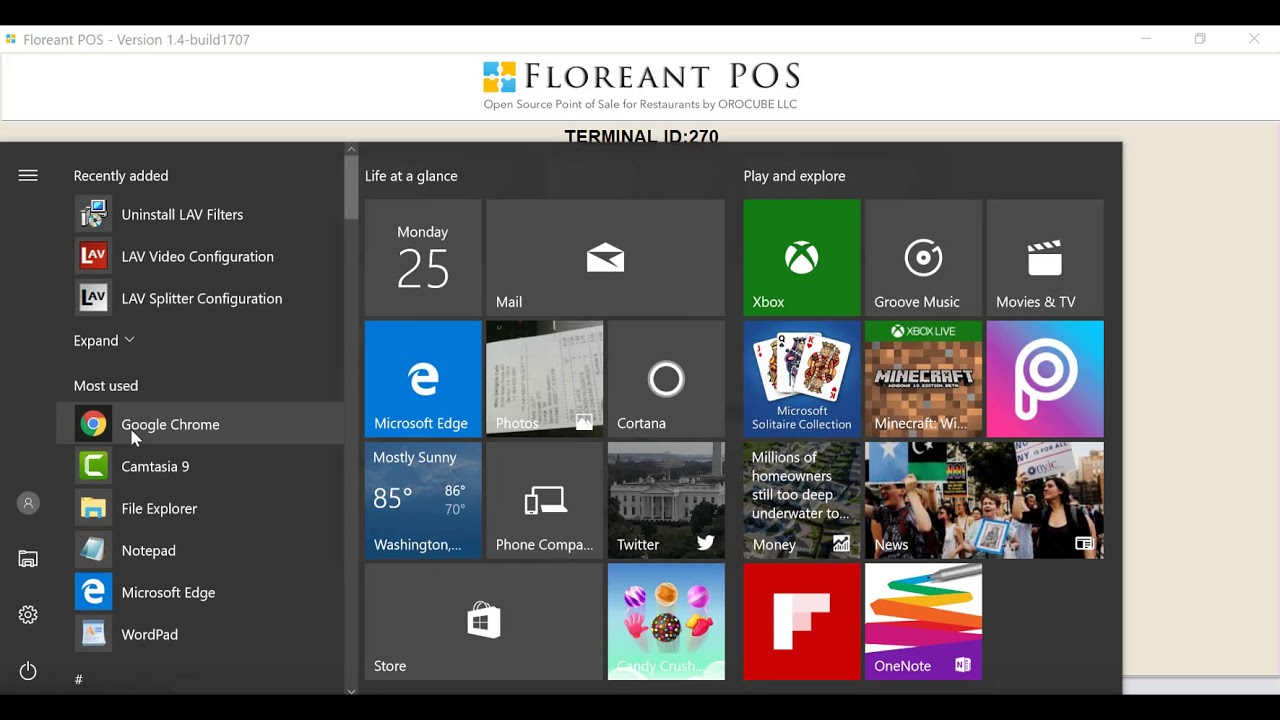 Floreant POS Easy Installation and Quick Overview