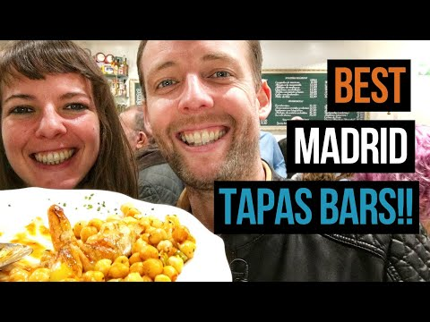 ULTIMATE Tapas In Madrid 🙌 Totally LOCAL Bars