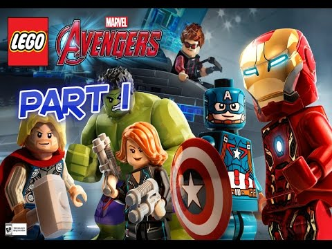 Lego Avengers Let's Play Part 1 Struck Off The List!