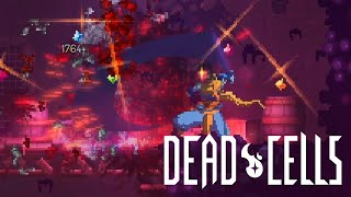 Dead Cells - Oiled Sword and Firebrands showcase (5 boss cells active)