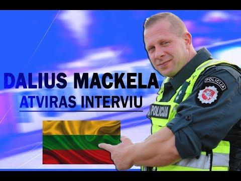 ŽINOMIAUSIAS LIETUVOS FARAS - DALIUS MACKELA. ATVIRAS INTERVIU