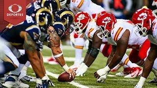 Previo: Kansas City VS Los Ángeles | NFL | Televisa Deportes
