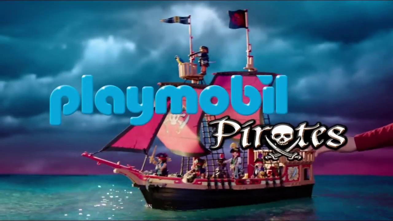 "Playmobil Pirates ""en avant les histoires"" Pub 15s"