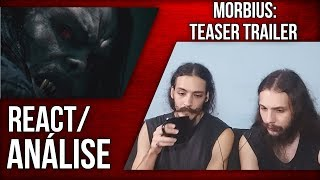 [REACT/ANÁLISE] MORBIUS: TRAILER OFICIAL LEGENDADO - MORBIUS NO UNIVERSO DO MCU