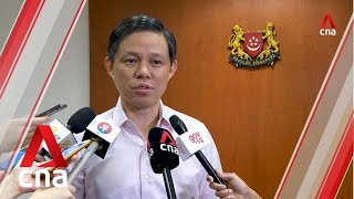 Minister Chan Chun Sing On Dealing With Disruption Of Malaysia Food Supplies To Singapore