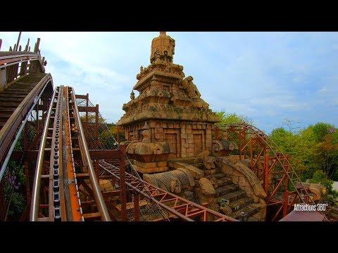 Indiana Jones Coaster Ride At Disneyland Paris