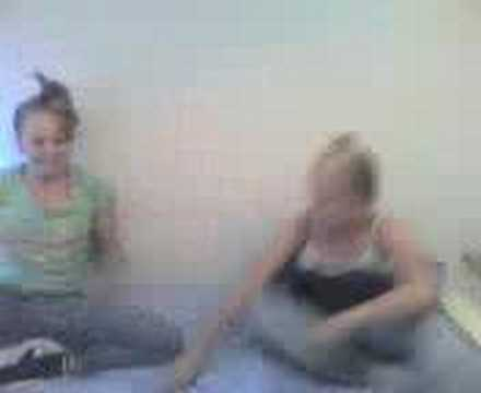 Girls flicking the bean