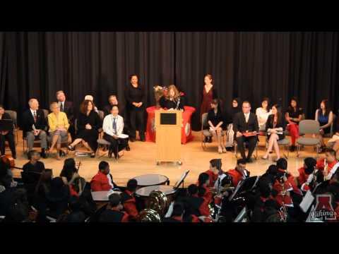 Amundsen High School Jordnt Award Ceremony 2014