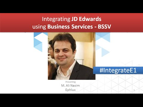 Webinar: Getting started with JD Edwards E1 Business Services (BSSV) Integration?