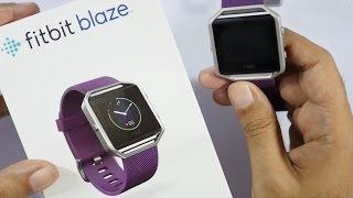 Fitbit Blaze Smart Fitness Watch Unboxing