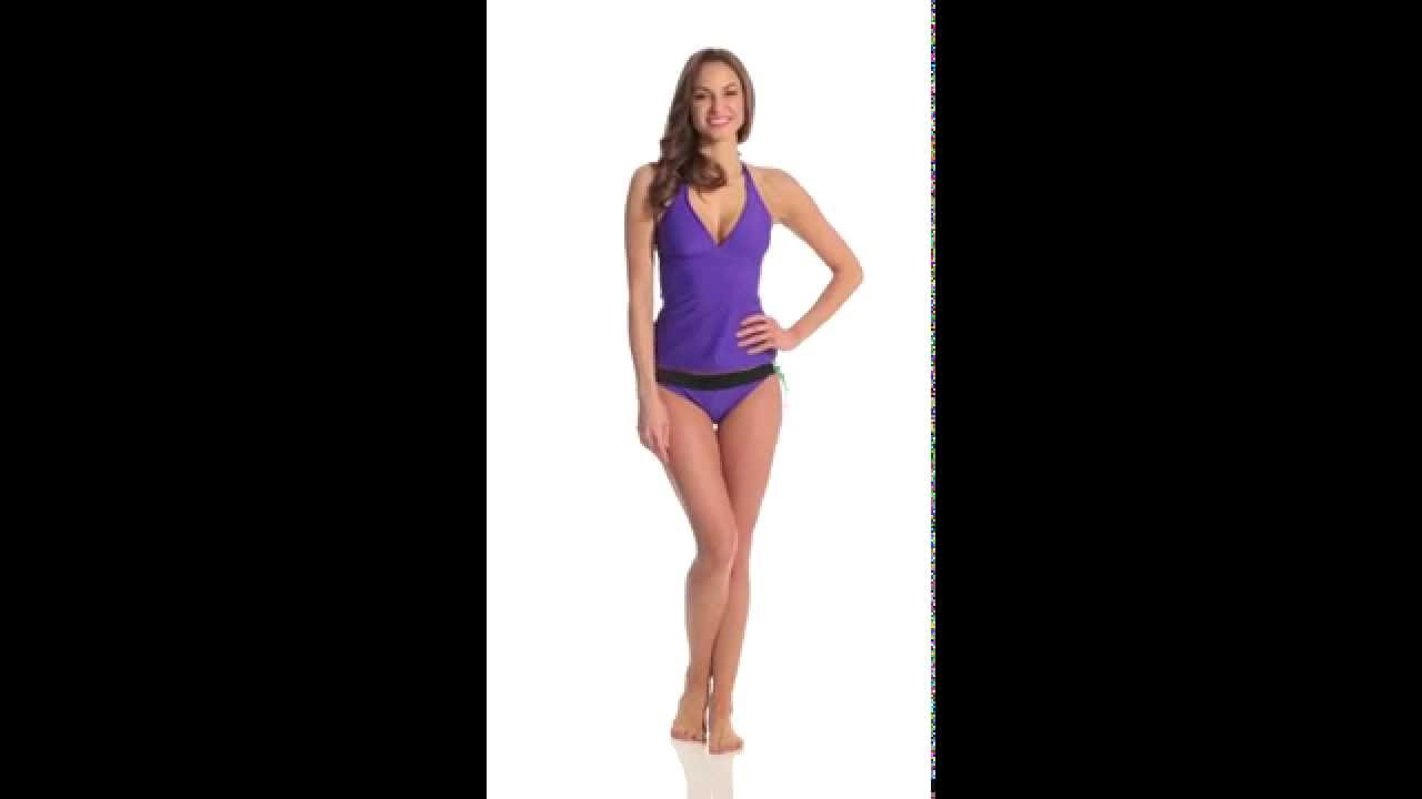 98e18d8a53afa Prana Lahari Tankini Top | SwimOutlet.com - YouTube