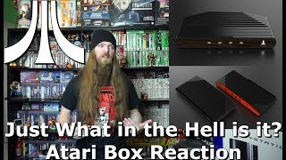 Atari Box.... Just What in the Hell is it? Atari Box Reaction - AlphaOmegaSin