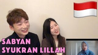 Reaksi SABYAN SYUKRAN LILLAH Korean reaction