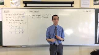 Cubic Curves (1 of 4 :Reviewing Polynomial Division)