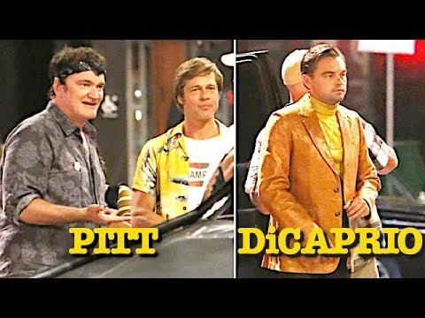 Brad Pitt And Leonardo DiCaprio Go Retro With Quentin Tarantino For Charles Manson Thriller