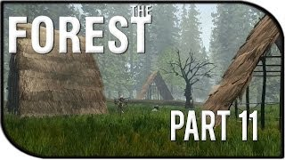 The Forest Gameplay Part 11 - Main Mutant Camp