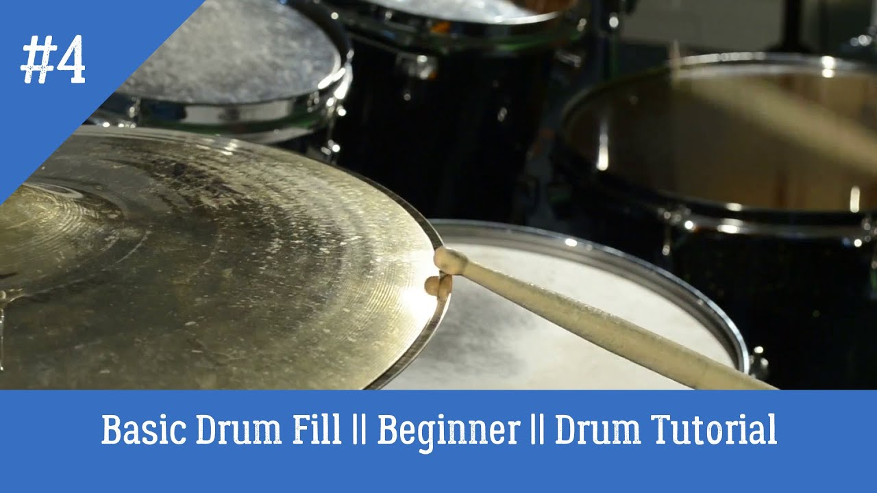 how to play drums basic