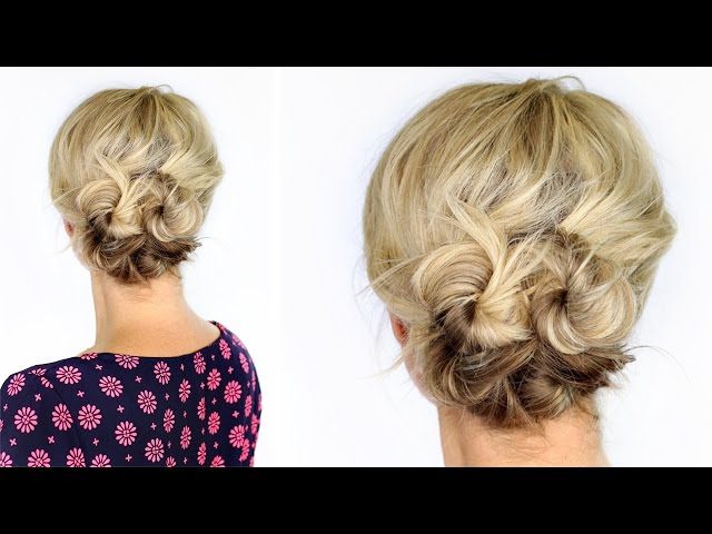 Hochsteckfrisuren Stylings Inspirationen Instyle