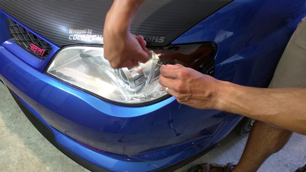 Can Knifeless tape cut VVivid headlight/tail light tint?