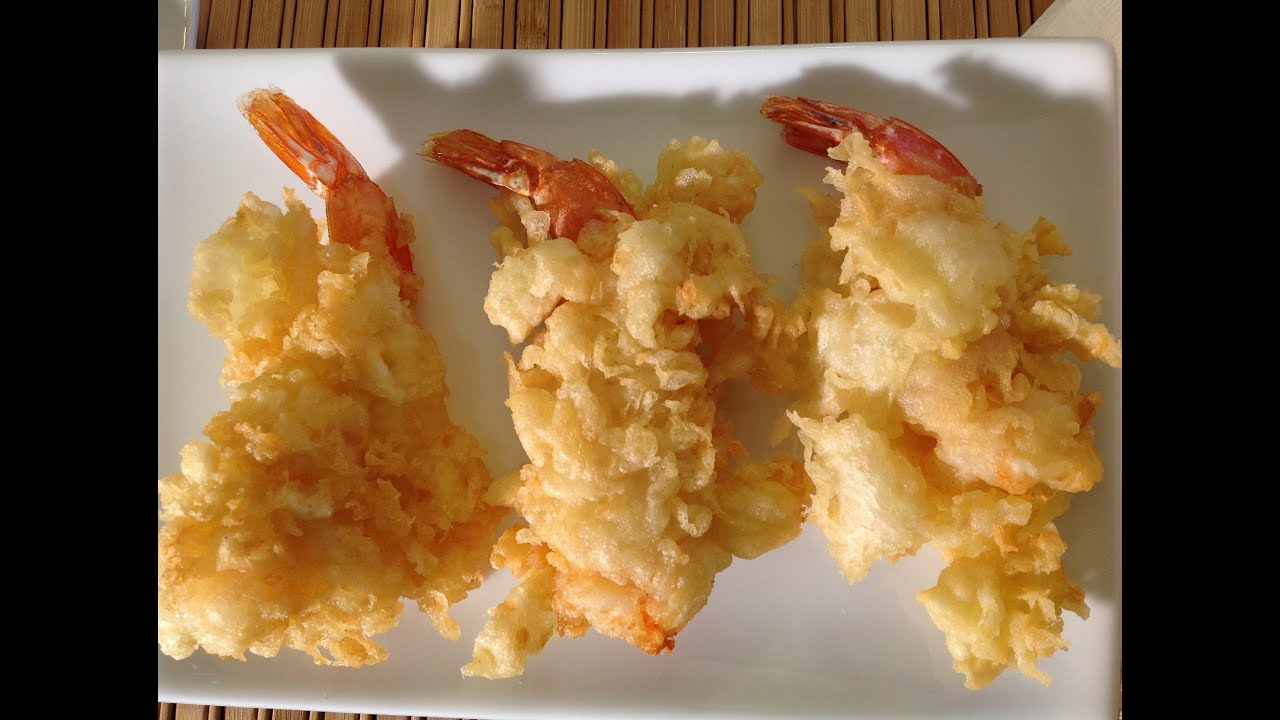 Asian Fried Tempura Shrimp-How To Cook Asian Fried Shrimp-Prawns ...