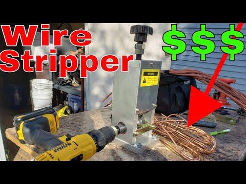 Copper Wire Stripping Machine   Bare Bright Copper from Scrap Wire