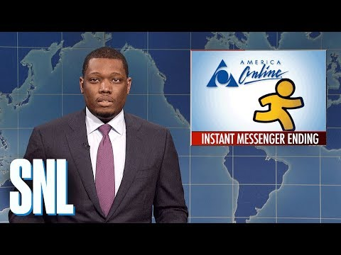 Weekend Update on AIM Shutting Down - SNL