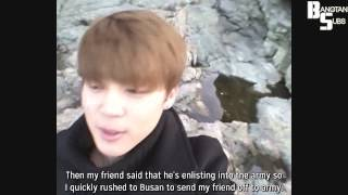 ENG 150107 Jimin 39 s Log
