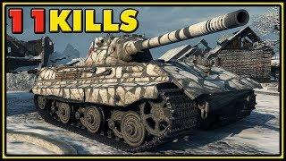 E 50 - 11 Kills - 10,5K Dmg - World of Tanks Gameplay