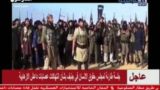ناج ٍ من جريمة قاعدة سبايكر يتحدث عن جريمة قتل 1700 عراقي على يد اولاد الزنا من جرابيع داعش 26 اب201