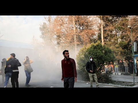 Iran protest death toll climbs to 12