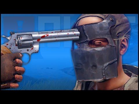 PYTHON REVOLVER PVP! (Rust Gameplay)