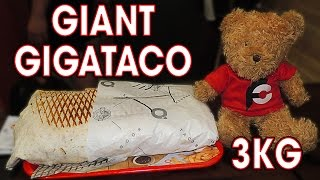 O'Tacos Giant GIGATACOS CHALLENGE in France!!