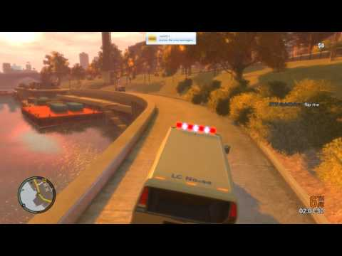 GTA IV - 15th April 2012 - ORF Event - 2 Races & lot's of Busted!