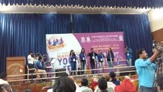 National Youth Festival 2016 Western Vocal Group Kerala University