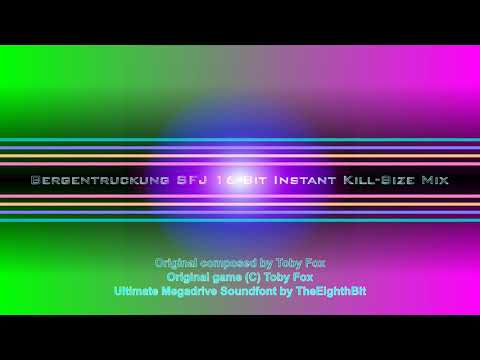 Bergentruckung SFJ 16-Bit Instant Kill-Size Mix