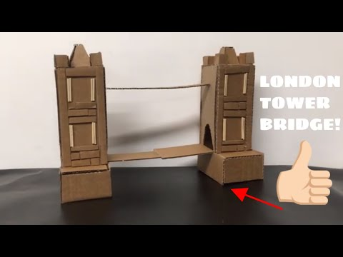 Building London Bridge Using Cardboard