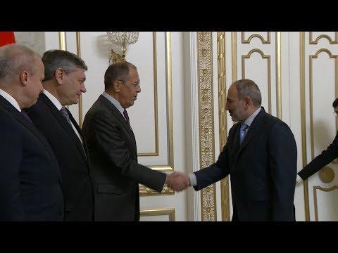Визит министра иностранных дел России Сергея Лаврова в Ереван – ключевые моменты