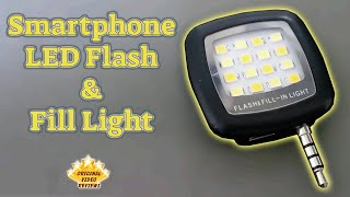 Item review - Smartphone LED Flash & Fill Light