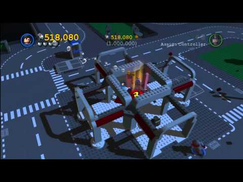 Lego Batman 2 DC Super Heroes: Hidden Level Lego Gotham City