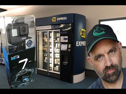 Bestbuy Vending Machine: $600 Drop On Gopro Hero 7 Black